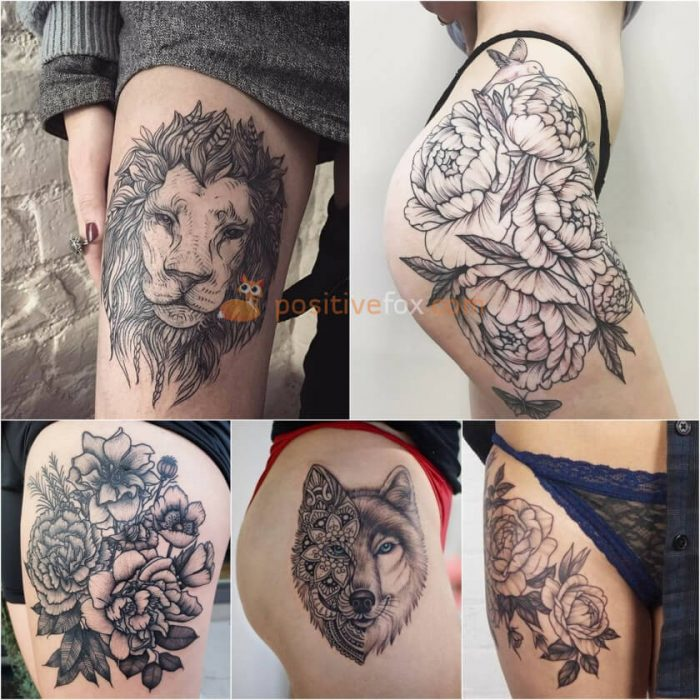 Best 60+ Thigh Tattoos Ideas