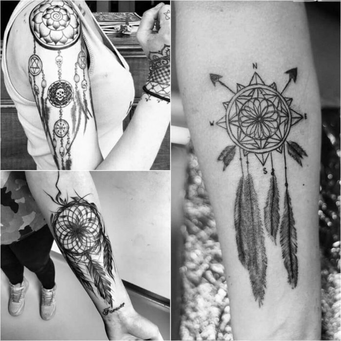 Dreamcatcher Arm Tattoo - Dreamcatcher Tattoos - Dreamcatcher Tattoo Ideas - Dreamcatcher Tattoo Meaning