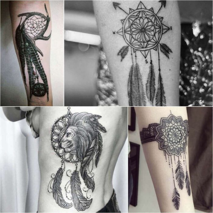 Dreamcatcher Tattoo - Dreamcatcher Tattoo Ideas - Dreamcatcher Tattoo Meaning