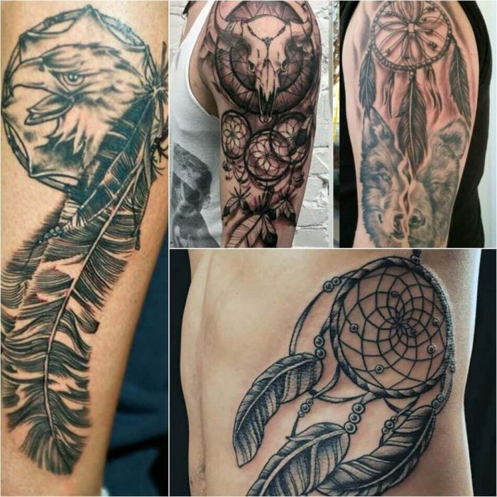 Dreamcatcher tattoos powerful talisman for good dreams for Thoughts about tattoos