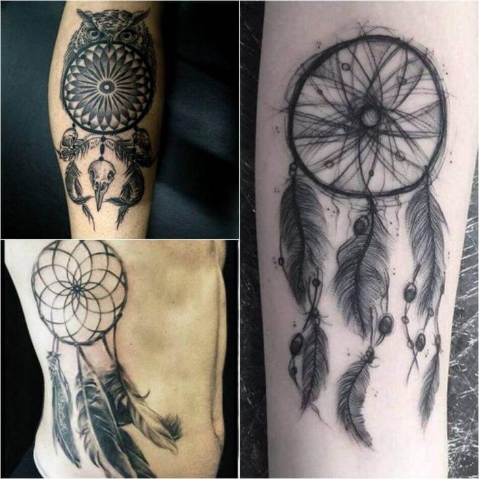 Dreamcatcher Tattoos for Men - Dreamcathcer Tattoos - Dreamcatcher Tattoo Ideas - Dreamcatcher Tattoo Meaning