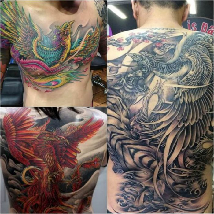 Phoenix Tattoo Japanese - Phoenix Tattoos - Phoenix Tattoo Ideas - Phoenix Tattoo Meaning