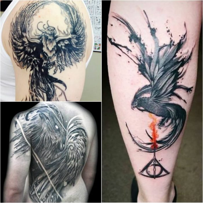 Phoenix Tattoo for Men - Mens Phoenix Tattoos - Phoenix Tattoos - Phoenix Tattoo Ideas - Phoenix Tattoo Meaning