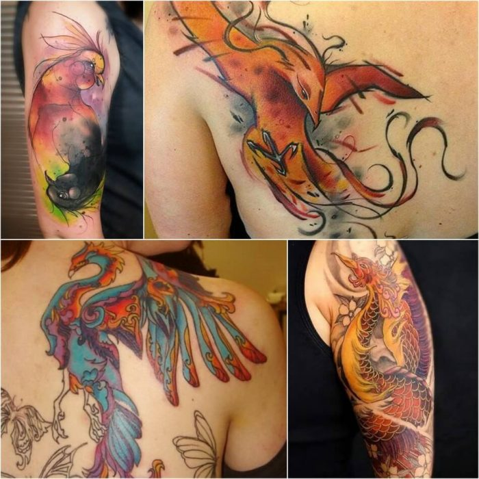 Phoenix Tattoo for Women - Womens Phoenix Tattoos - Phoenix Tattoos - Phoenix Tattoo Ideas - Phoenix Tattoo Meaning