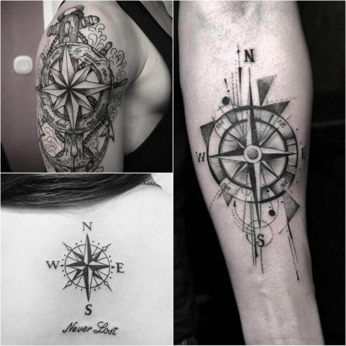 compass tattoos Archives - PositiveFox.com - Meaning to Inspire ...