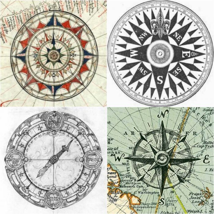 Compass Tattoo Design - Compass Tattoo Sketch - Compass Tattoo Meaning - Compass Tattoo Ideas