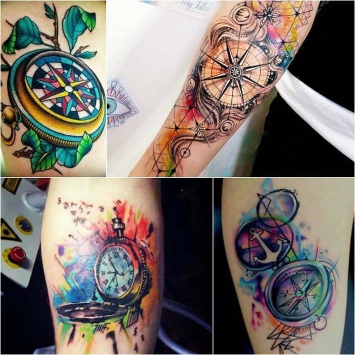 Compass Tattoo for Women - Compass Tattoo Meaning - Compass Tattoo Ideas for Women