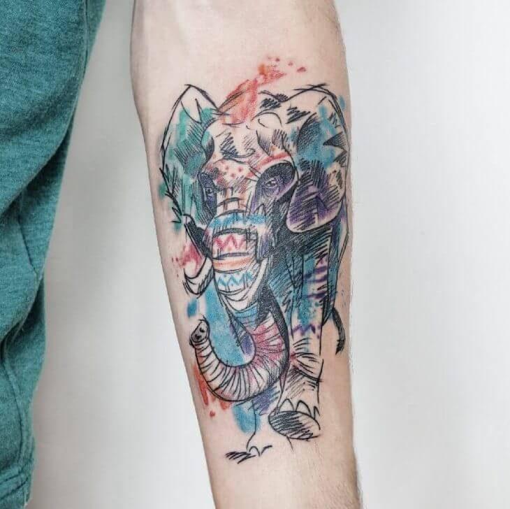 Elephant Tattoo - Elephant Tattoo Meaning - Elephant Tattoo Ideas