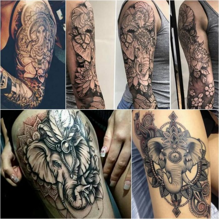 Elephant Tattoos for Women - Elephant Tattoo Meaning - Elephant Tattoo Ideas