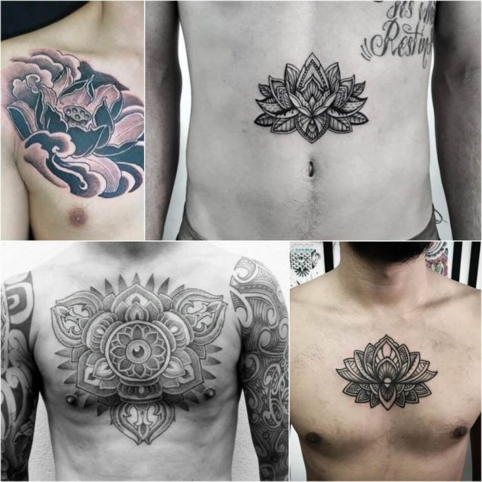 Lotus Tattoos for Men - Lotus Tattoo Meaning - Lotus Tattoo Ideas - Lotus Tattoo Designs