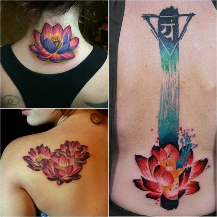 Flower Tattoos Designs Ideas And Meaning: Female Lotus Tattoos Designs With