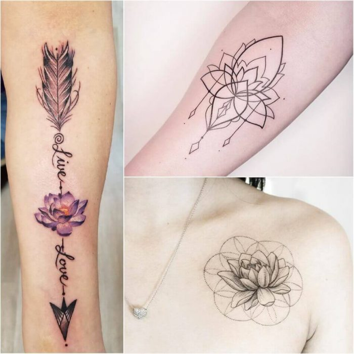 Lotus Tattoos for Women - Lotus Tattoo Meaning - Lotus Tattoo Ideas - Lotus Tattoo Designs