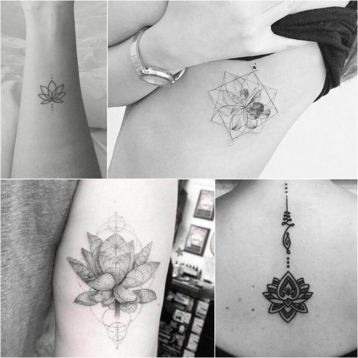 Small Lotus Tattoo - Lotus Tattoo Meaning - Lotus Tattoo Ideas - Lotus Tattoo Designs