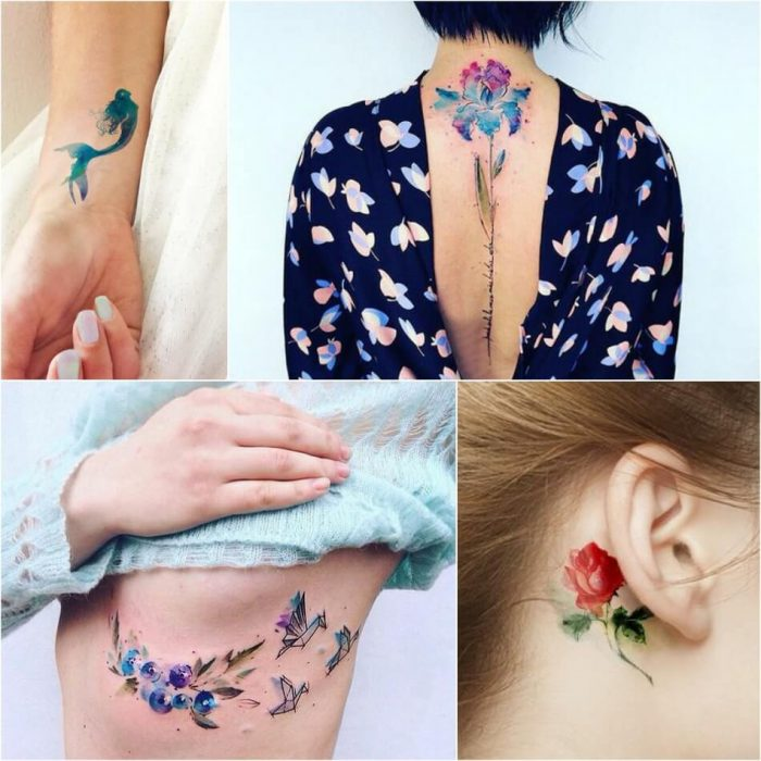 Watercolor Tattoo-Watercolor Tattoo Meaning-Watercolor Tattoo Ideas