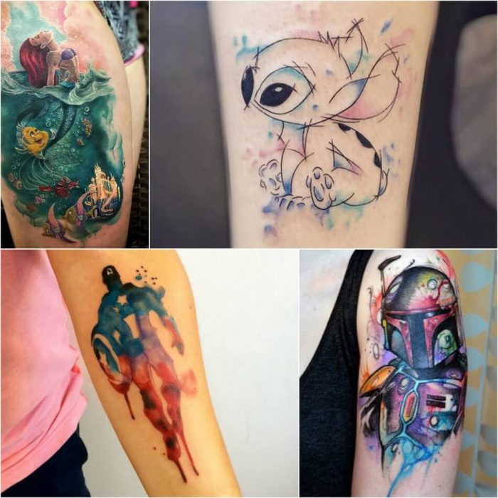Watercolor Tattoo - Watercolor Tattoo Meaning - Watercolor Tattoo Ideas