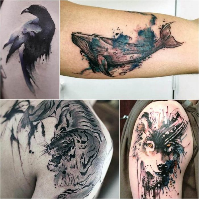 Watercolor Tattoo for Men - Watercolor Tattoo Meaning - Watercolor Tattoo Ideas
