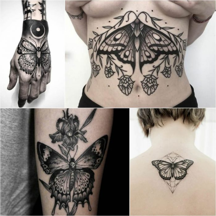 Butterfly Tattoo - Butterfly Tattoo Ideas - Butterfly Tattoo Meaning