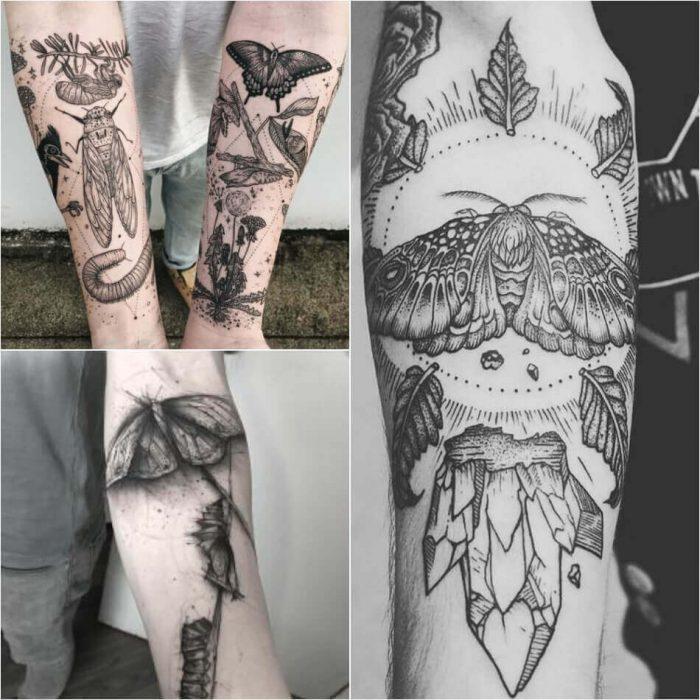 Butterfly Tattoo for Men - Mens Butterfly Tattoo - Butterfly Tattoo Ideas - Butterfly Tattoo Meaning