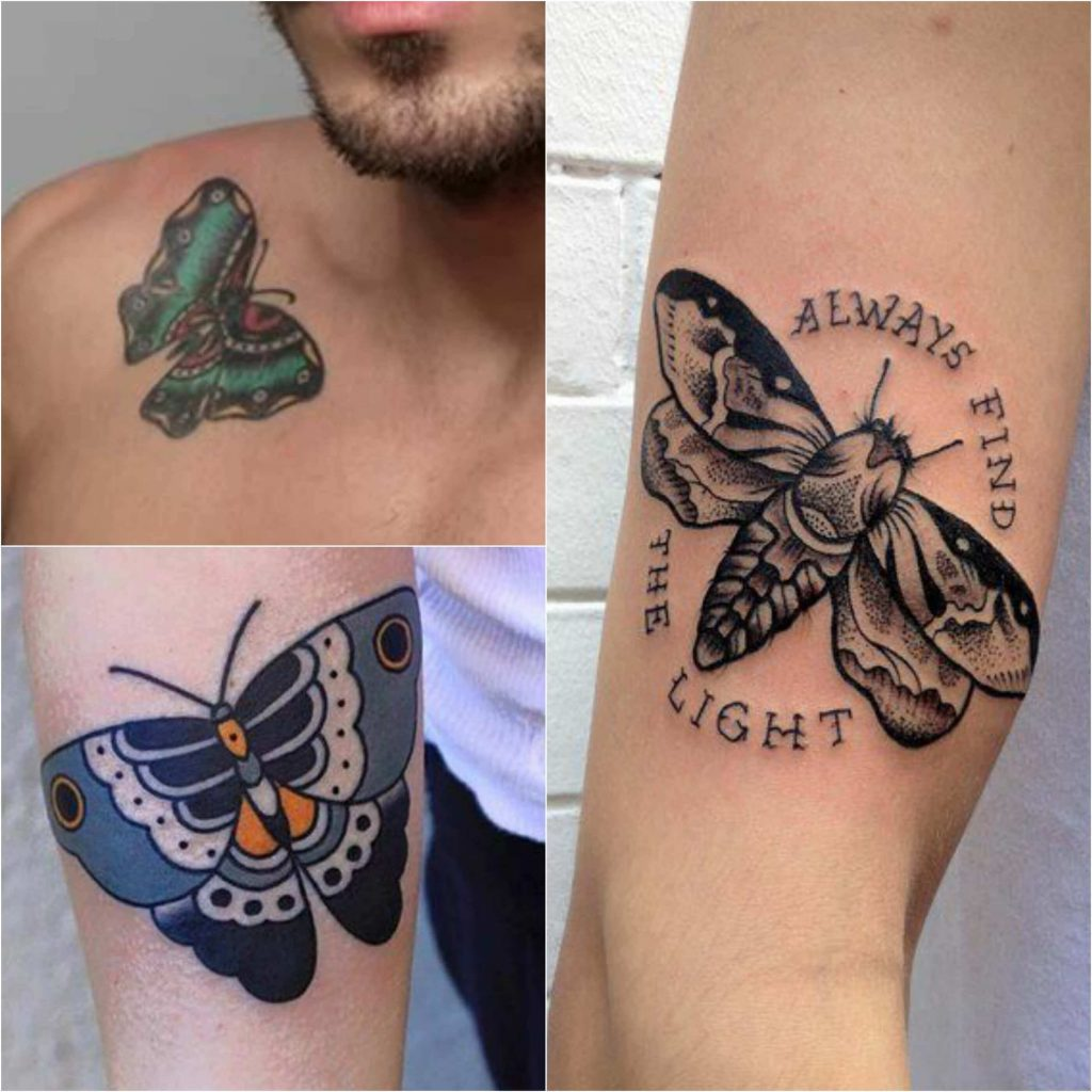 Butterfly Tattoo for Men - Mens Butterfly Tattoo - Butterfly Tattoo Ideas - Butterfly Tattoo Meaning
