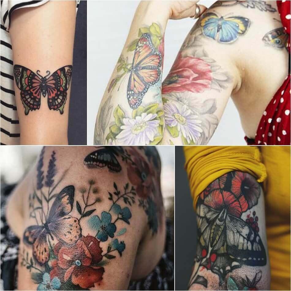 Butterfly Tattoo for Women - Womens Butterfly Tattoo - Butterfly Tattoo Ideas - Butterfly Tattoo Meaning