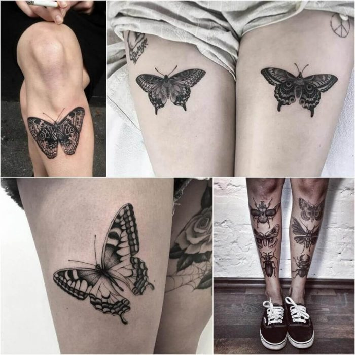 Butterfly Tattoo for Women - Womens Butterfly Tattoo - Butterfly Tattoo Ideas - Butterfly Tattoo Meaning