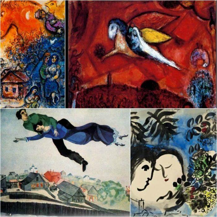Chagall Tattoo - Chagall Painting Tattoo - Tattoo of Painting - Painting Tattoo Ideas - Painting Tattoo Designs