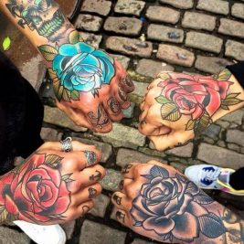 Color Tattoos - How to keep your Color Tattoos looking really bright and crisp