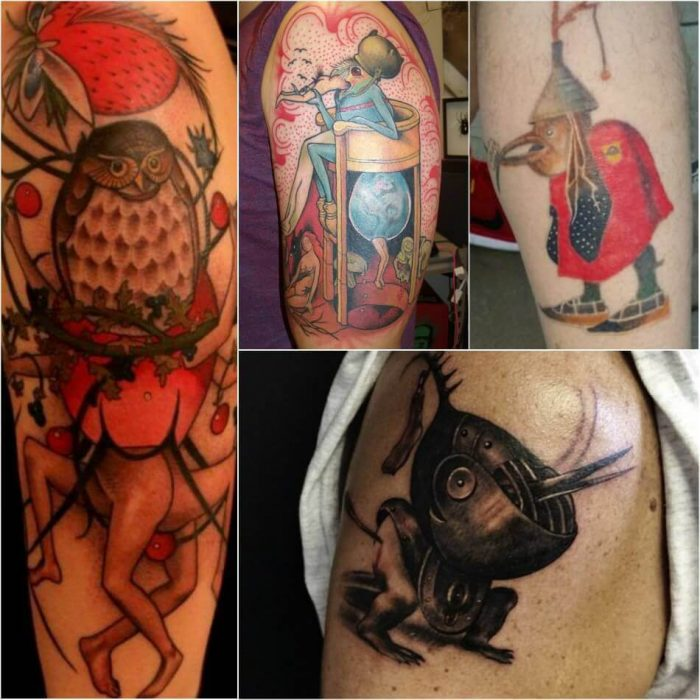 Hieronymus Bosch Tattoo - Painting Tattoo - Tattoo of Painting - Painting Tattoo Ideas - Painting Tattoo Designs