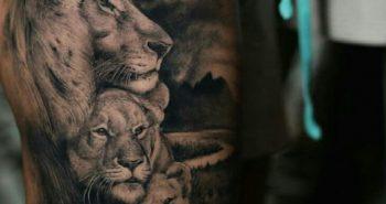 Lion Tattoo - Lion Tattoo Meaning - Lion Tattoo Ideas - Lion Tattoo Designs