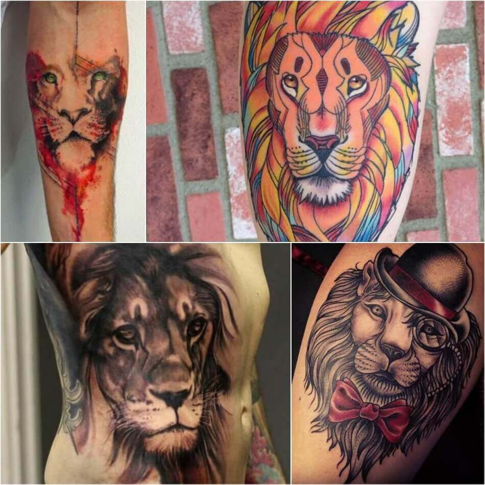 Lion Tattoo Meaning  Lion Tattoo Ideas For Men And -6267