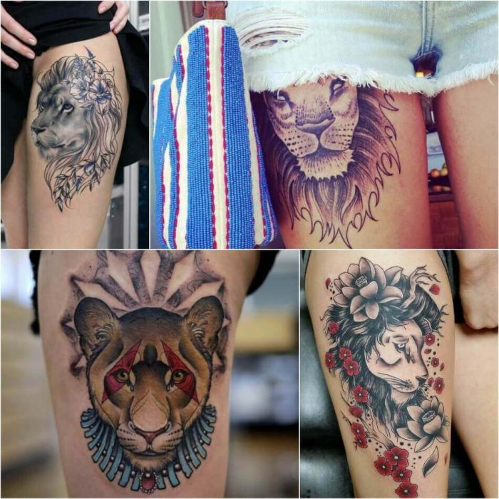Ideas And Designs For Girls: Lion Tattoo Ideas For Men And Women