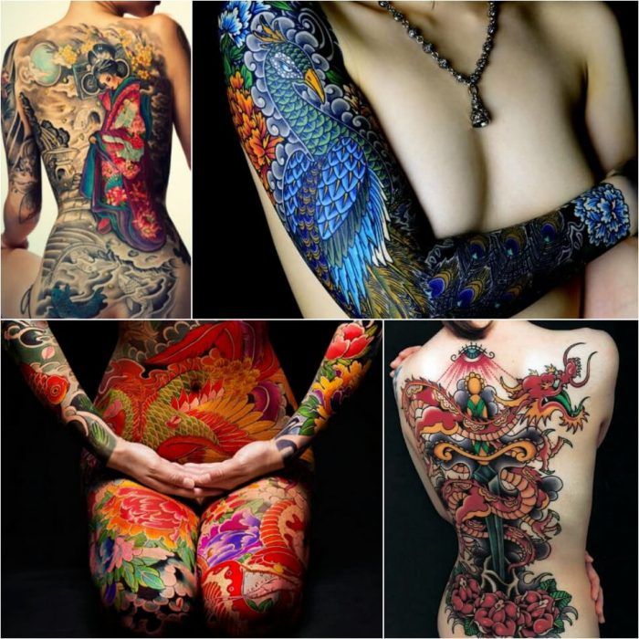Oriental tattoo style - most popular oriental Japanese tattoos - Different Tattoo Styles and Techniques