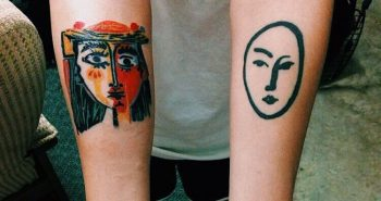 Painting Tattoo - Tattoo of Painting - Painting Tattoo Ideas - Painting Tattoo Designs