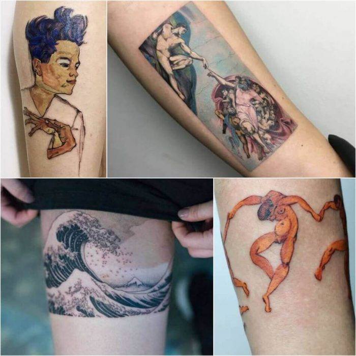 Tattoo Ideas For Art Lovers