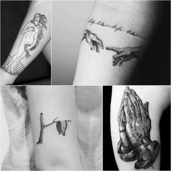 Painting Tattoo - Tattoo of Painting - Painting Tattoo Ideas - Painting Tattoo Designs