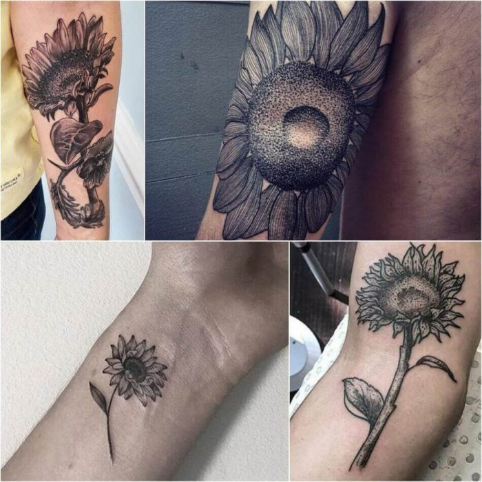 Sunflower Tattoo for Men - Sunflower Tattoo Ideas - Sunflower Tattoo Meaning - Sunflower Tattoo Designs