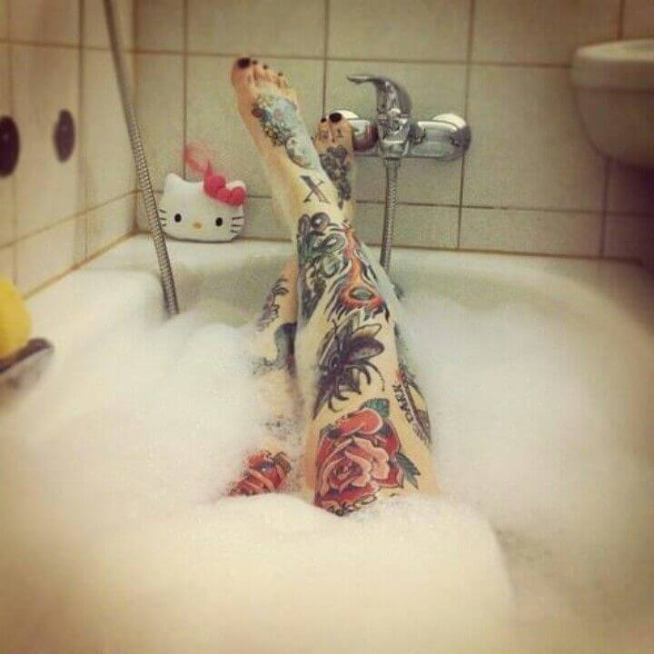 Tattoo Aftercare Tips - How long do you have to wait to shower after getting a tattoo - how to look after tattoo
