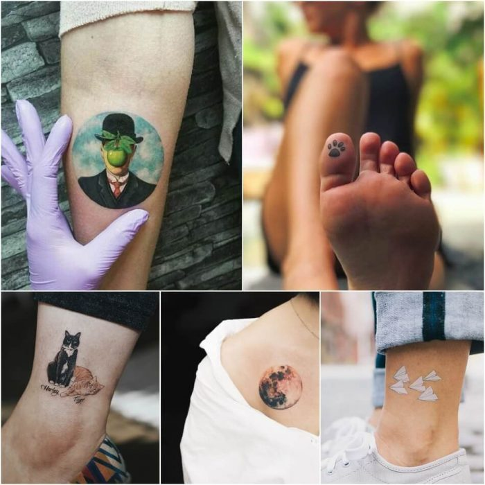 Where To Get a Tattoo - Discreet places to get tattoos - Small tattoo placement ideas