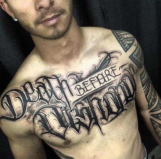 Tattoo Script and Writing - Tattoo fonts - Legible tattoo fonts