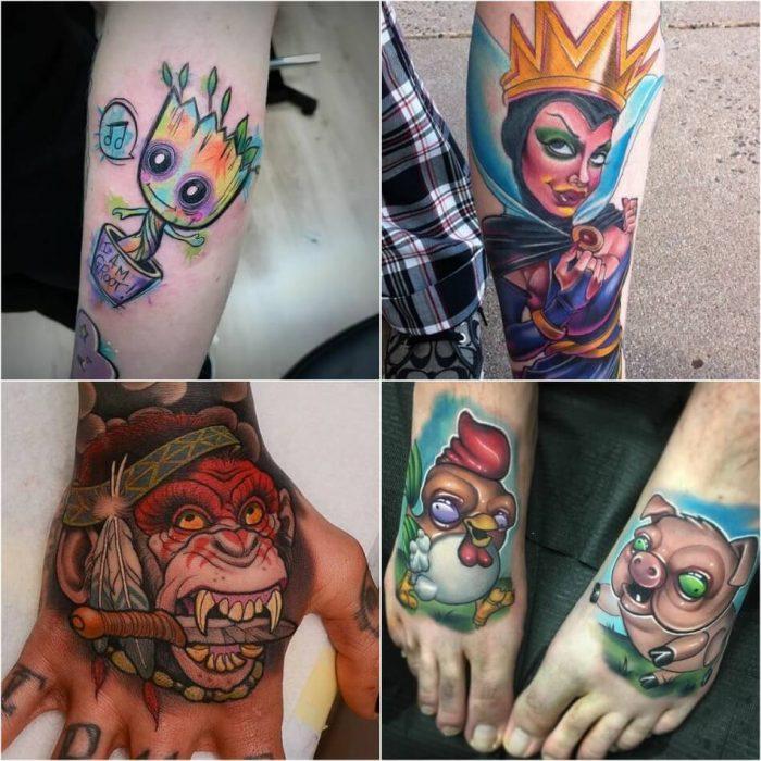 new school tattoo style - most popular tattoo styles new school - Different Tattoo Styles and Techniques