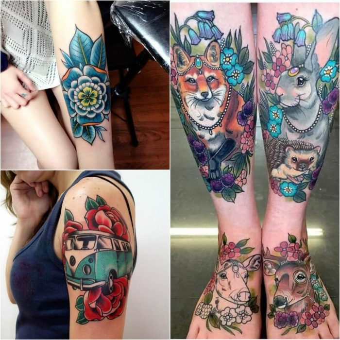 new school tattoo style - most popular tattoo styles new school - Different Tattoo Styles and Techniques