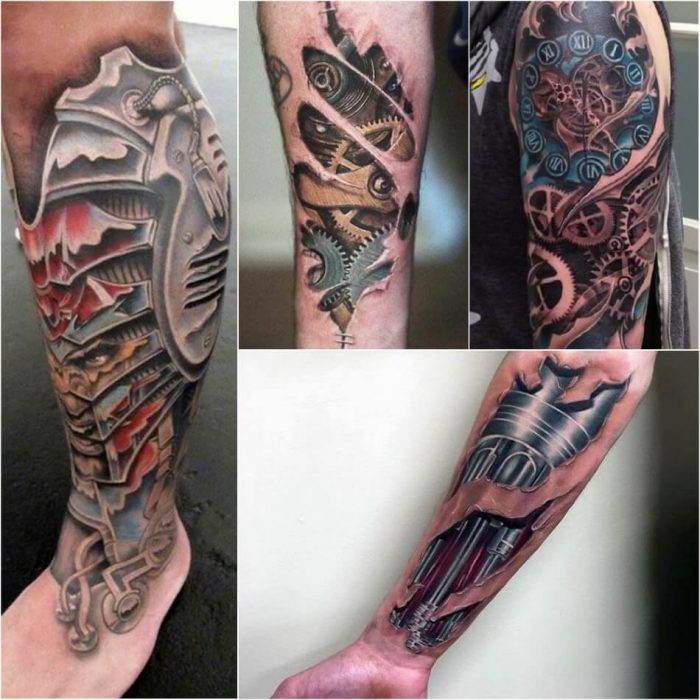 biomechanical tattoo - biomechanical tattoo leg - biomechanical tattoo arm