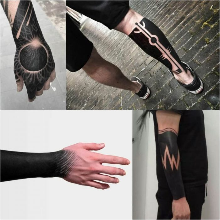 blackwork tattoo - blackwork tattoo style - blackwork tattoo style