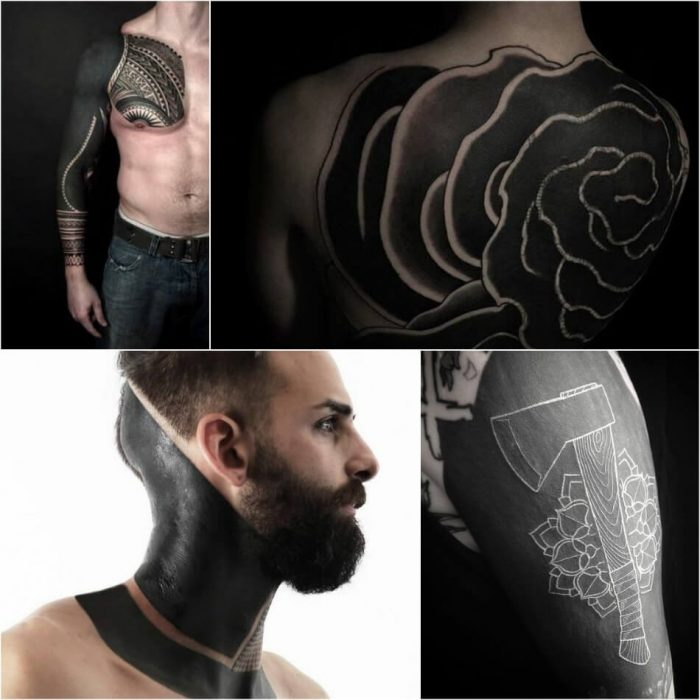 blackwork tattoo cover up - blackwork tattoo - blackwork tattoo for men
