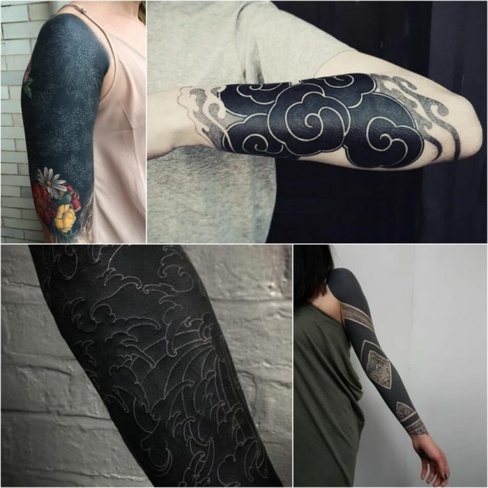 blackwork tattoos sleeve designs - blackwork tattoo - blackwork tattoo meaning