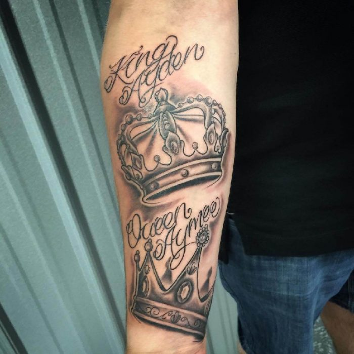 crown tattoo - crown tattoos for guys - crown tattoos on hand