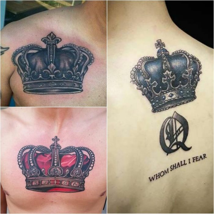 crown tattoo - crown tattoos for guys - king crown tattoo