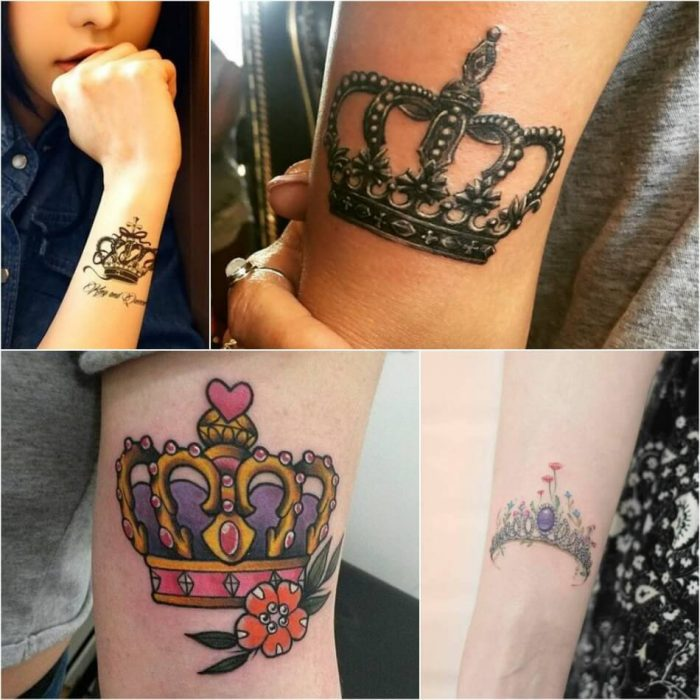 crown tattoo - crown tattoos for her - king crown tattoo