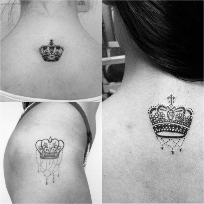 crown tattoo - simple crown tattoos - king crown tattoo for women