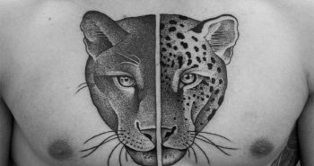 dotwork tattoo - dotwork geometric tattoo - dotwork tattoo animals
